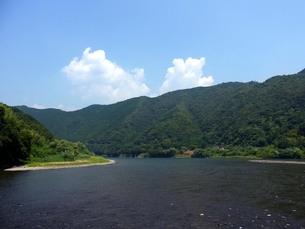 夏の川の写真素材 [FYI00181249]