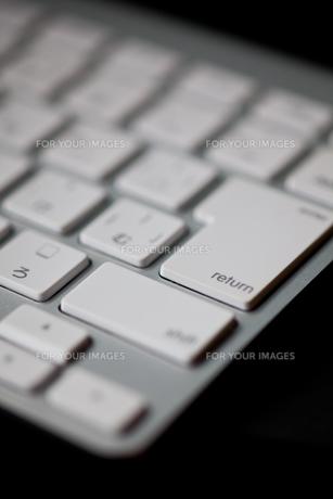 キーボードの写真素材 [FYI00181304]