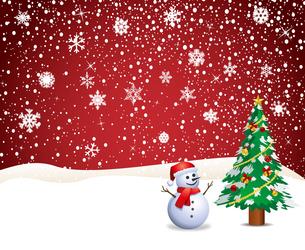 クリスマスの背景の写真素材 [FYI00181333]