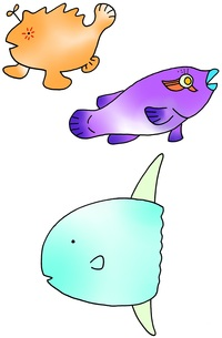 魚(マンボウ)の写真素材 [FYI00182074]