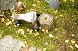 木の三輪車の写真素材 [FYI00182125]