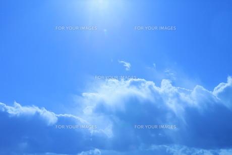 流れ雲の素材 [FYI00185696]