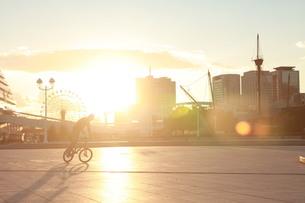 自転車乗りの写真素材 [FYI00185702]