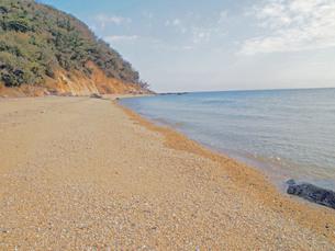 秘密の海岸沿いの写真素材 [FYI00185915]