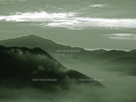 雲海を望むの写真素材 [FYI00185921]