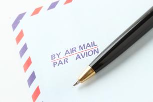 AIRMAIRとボールペンの写真素材 [FYI00186023]