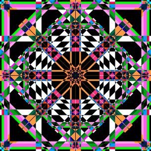 幾何学模様の写真素材 [FYI00186254]
