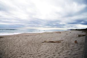 冬の海岸の写真素材 [FYI00186539]