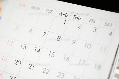 カレンダーの素材 [FYI00186776]