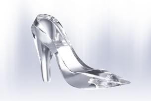ガラスの靴の写真素材 [FYI00186840]