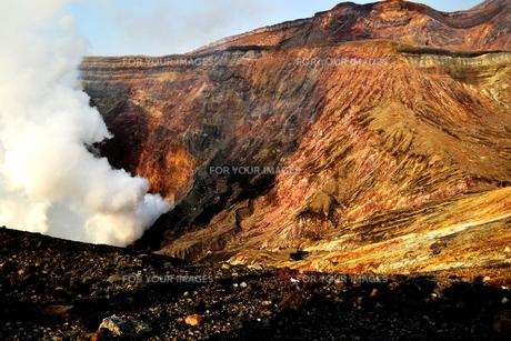 噴火口の素材 [FYI00186921]