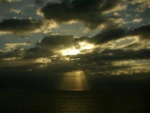 天使の階段の写真素材 [FYI00187424]