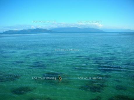 南国の海の写真素材 [FYI00187429]