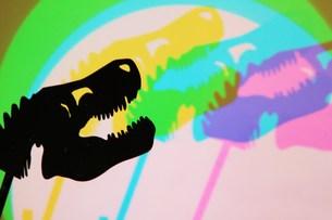 Colourful Dinosaursの写真素材 [FYI00187468]