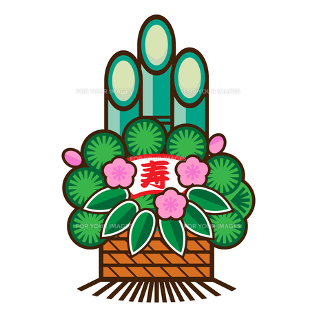 門松のイラストの写真素材 [FYI00187488]