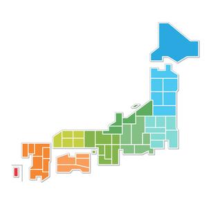 日本地図の写真素材 [FYI00187527]