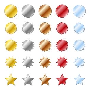 星のアイコンの写真素材 [FYI00187535]