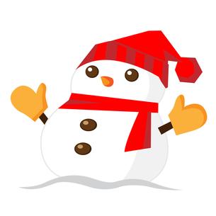 雪だるまの写真素材 [FYI00187538]