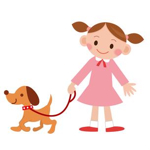 犬の散歩の写真素材 [FYI00187552]