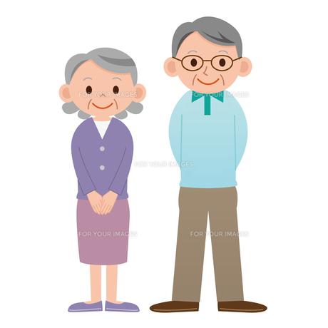 老夫婦の素材 [FYI00187555]