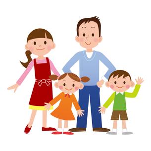 家族の写真素材 [FYI00187564]