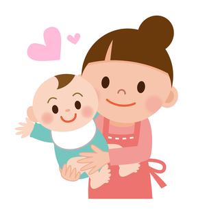 お母さんと赤ちゃんの写真素材 [FYI00187661]