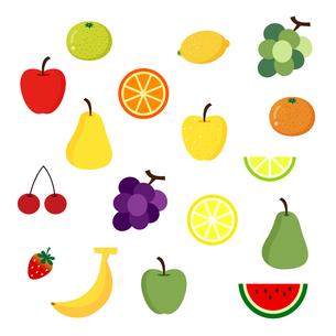 果物セットの写真素材 [FYI00187688]