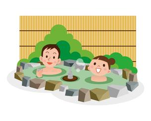 混浴の写真素材 [FYI00187710]