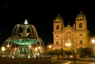 ペルーの夜景の写真素材 [FYI00187814]