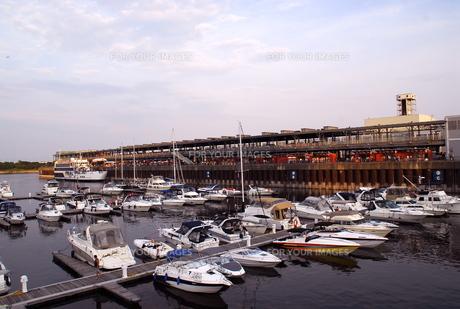 モントリオールの船着き場の写真素材 [FYI00187816]