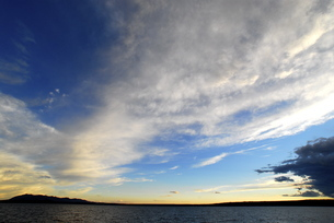 魅力的な空の写真素材 [FYI00187821]