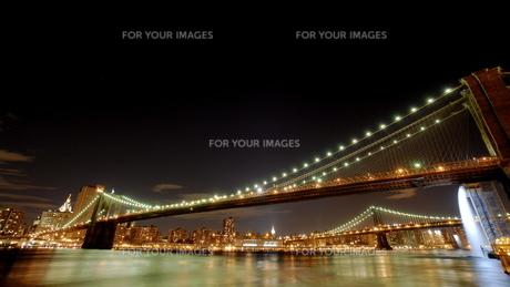 ニューヨークの夜景の写真素材 [FYI00187822]