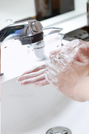 手洗いの写真素材 [FYI00188013]