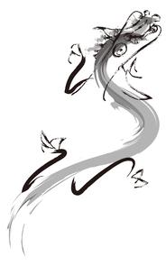 昇龍の写真素材 [FYI00188338]