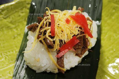 信州郷土料理 笹寿司の素材 [FYI00188393]