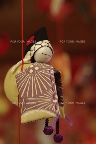吊るし雛 雛人形 和 伝統 かわいいの写真素材 [FYI00188421]