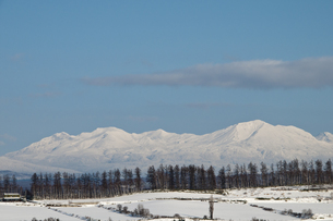 冬の山の写真素材 [FYI00188778]