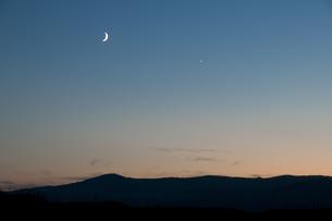 夕暮れの空の写真素材 [FYI00188804]