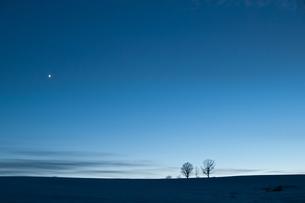 夕暮れの金星の写真素材 [FYI00188875]