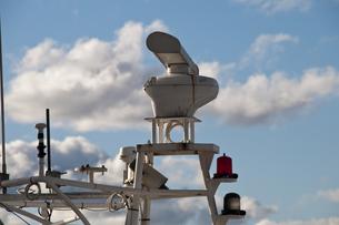 漁船のレーダーの写真素材 [FYI00188980]