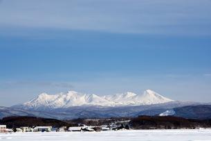 冬の大雪山の写真素材 [FYI00189100]
