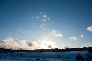夕日の写真素材 [FYI00189174]