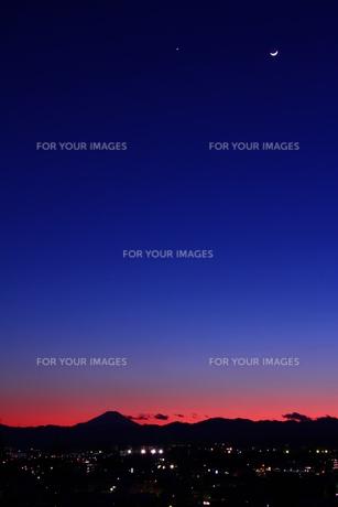 富士山の写真素材 [FYI00189834]