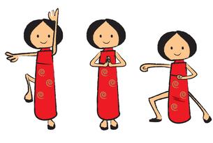 中国の女の子の素材 [FYI00189871]
