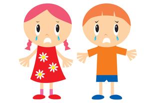 泣く子供の素材 [FYI00189890]