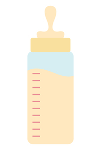 哺乳瓶の素材 [FYI00189893]