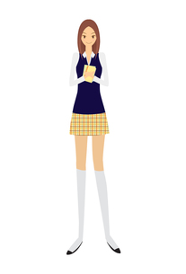 女子高生の素材 [FYI00189910]