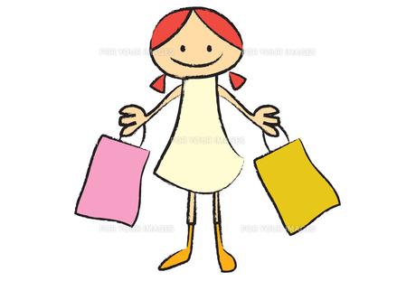 ショッピングの素材 [FYI00189914]