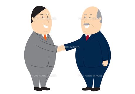 ビジネス 握手の素材 [FYI00189933]