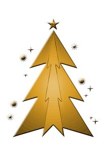 クリスマスツリーの素材 [FYI00189965]